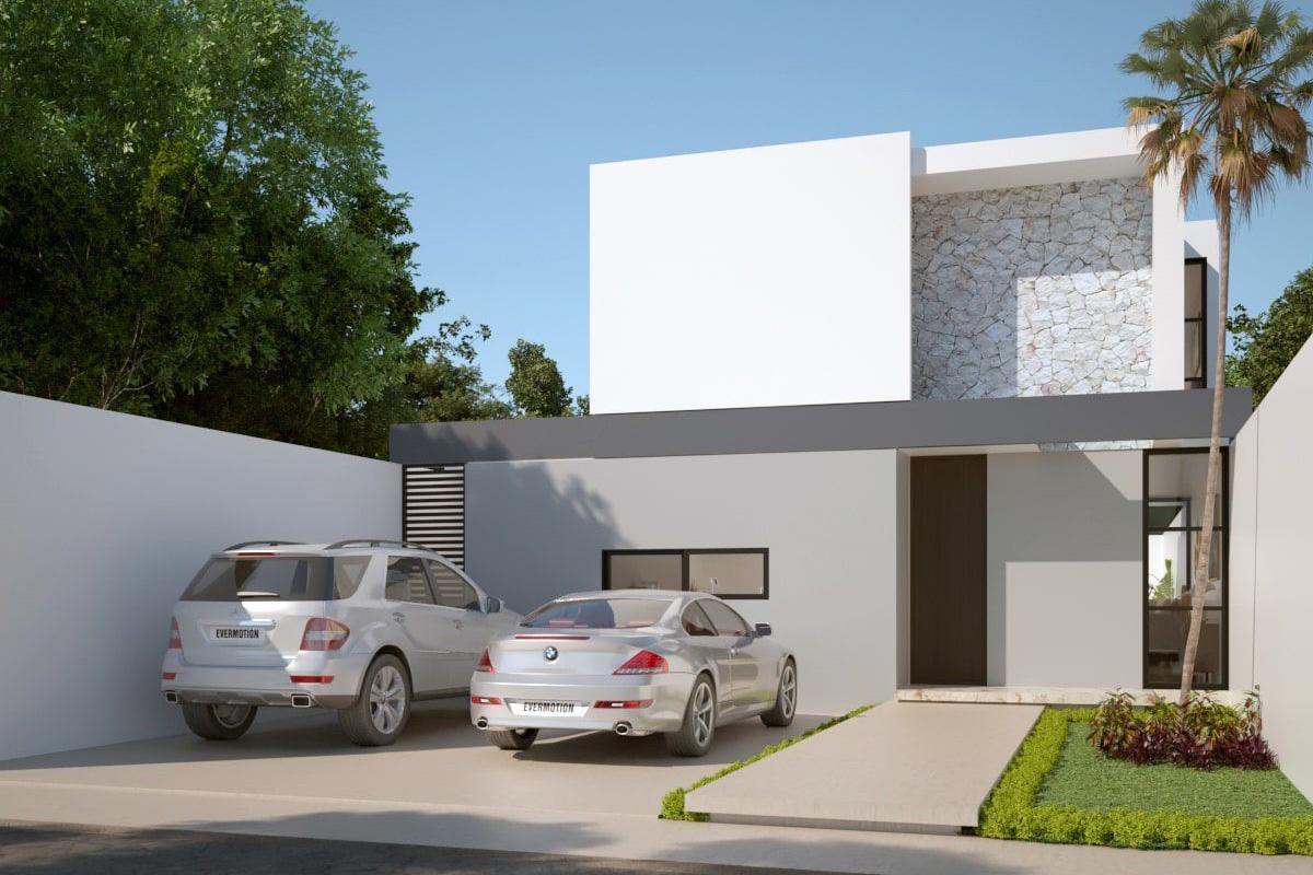 Casa en Mérida Conkal. Cod.Nadir-2HB